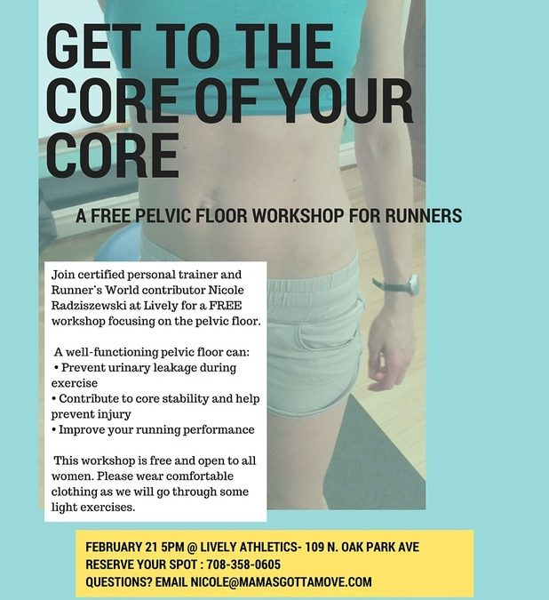 Free Pelvic Floor Workshop For Runners