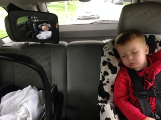12 WAYS TO MAKE THE MOST OF YOUR CHILD'S CAR NAPS