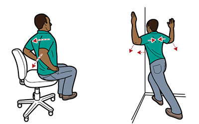 Fitness Fix: How to Correct Computer Slouch